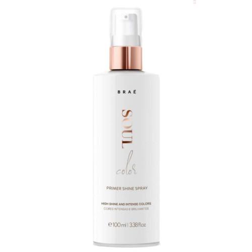 Фото - BRAÉ Soul color Spray Premium Shaine – спрей-праймер для окрашенных и мелированных волос